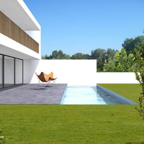 Cornet guillaume architectes projets for Construction maison neuve bordeaux