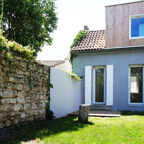 Cornet guillaume architectes projets for Maison angouleme