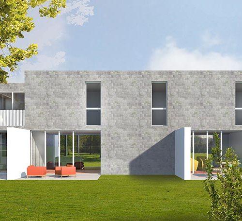 Cornet guillaume architectes projets for Maison bordeaux bastide